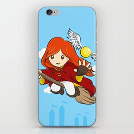 HP - Snitch Catcher - Ginger girl iPhone Skin