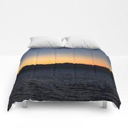 Running Towards the Sun Comforters