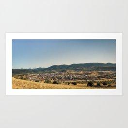 Los Navalucillos Panorama Art Print