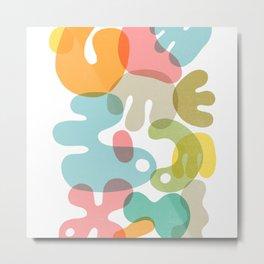 blobs 009 Metal Print