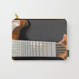 Morphed Portrait of an Electric Bass Carry-All Pouch