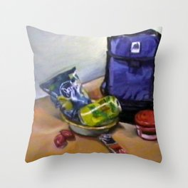 What I Got for Lunch Today Throw Pillow