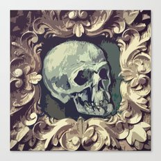 A Fine Skull Canvas Print