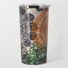 Abstract-Doily 1 Travel Mug