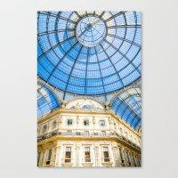 milan Canvas Prints featuring Milan by Halina  Jasińska photography