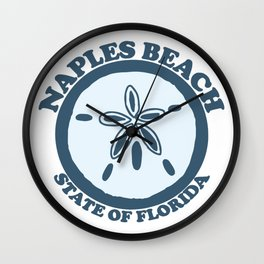Naples Florida. Wall Clock