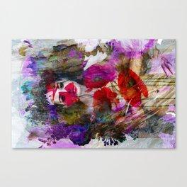 blood lines Canvas Print