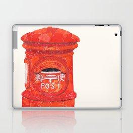 Red Mailbox Laptop & iPad Skin