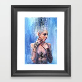 THE MIRROR OF REASON Framed Art Print