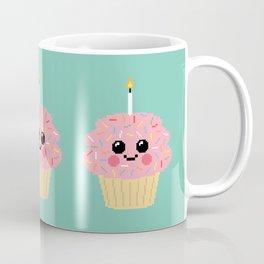 Happy Pixel Cupcake Coffee Mug