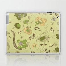 large flowers - greens Laptop & iPad Skin