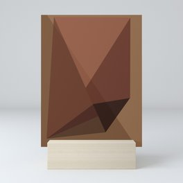 geometric art 04 Mini Art Print