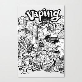 Vaping World Canvas Print
