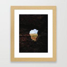 Slains Castle Framed Art Print