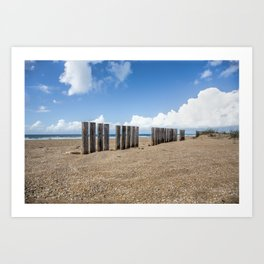 Andalusia Lonely Beach Art Print