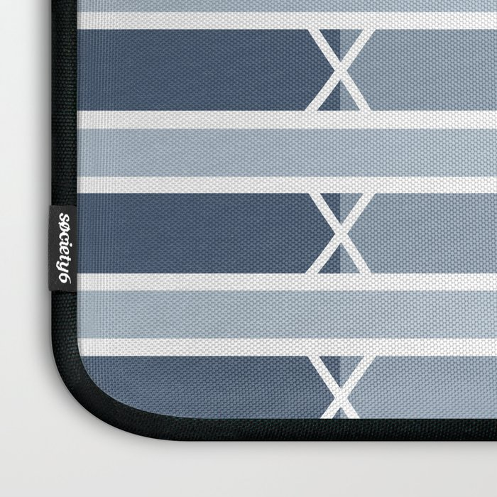 Venice Blue Stripe Laptop Sleeve