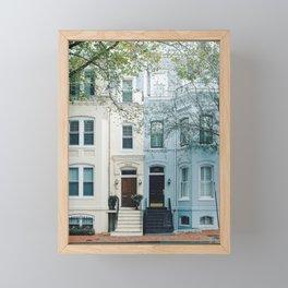 Georgetown House 2 Framed Mini Art Print