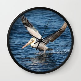 Pelican Pete Wall Clock