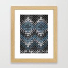 knit3 Framed Art Print