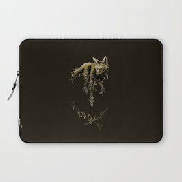 Amber Maned Wolf Laptop Sleeve
