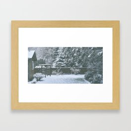 Cozy Framed Art Print