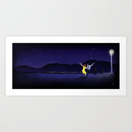 Here's to the Dreamers Art Print