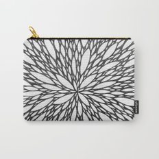 Chrysanthemum Burst Carry-All Pouch