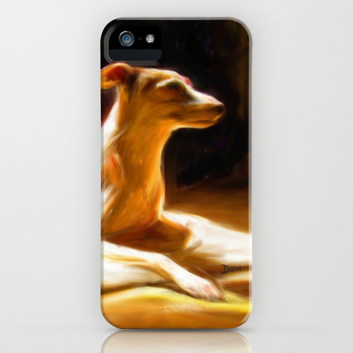 Sophie in the sun iPhone Case