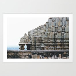 Fortress (Rajasthan, India) Art Print