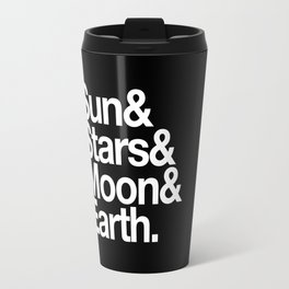 Sun, Stars, Moon, Earth Travel Mug