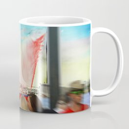Fire Boat Coffee Mug