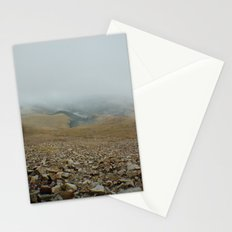 Snowy day on Pikes Peak Stationery Cards