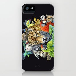 The Circle of Life iPhone Case