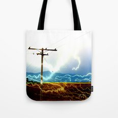 Power Baby, Power by D. Porter Tote Bag