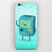 game iPhone & iPod Skins featuring Game Beemo by Lime