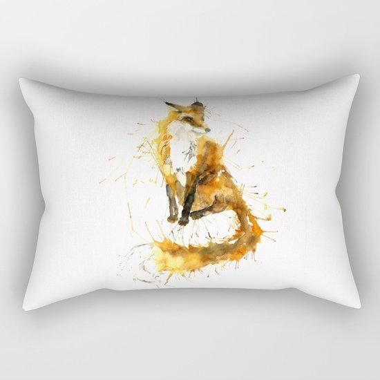 Bushy Tailed Rectangular Pillow