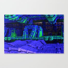 The Entrance To Our Rabbithole Canvas Print