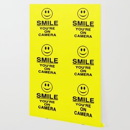 Smile You're On Camera Wallpaper