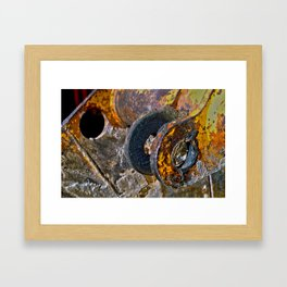 Metal Composition Framed Art Print