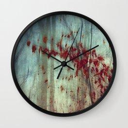 Fall Elegy Wall Clock