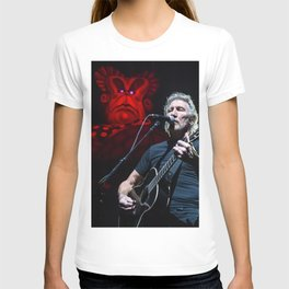 Roger Waters with Mother T-shirt