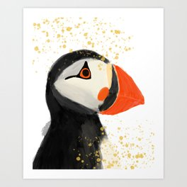 Atlantic Puffin Art Print