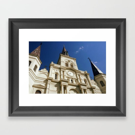 St Louis Cathedral Framed Art Print