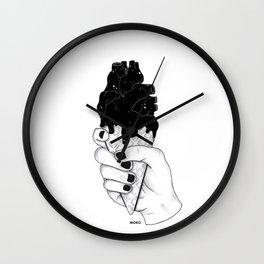 melting heart Wall Clock