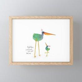 Bedtime Framed Mini Art Print