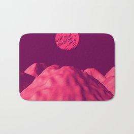 Martian Sunset Bath Mat