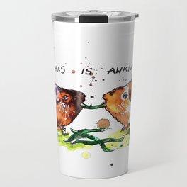 Guinea Pigs Feeling Awkward Travel Mug