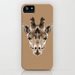 Giraffe Sym iPhone Case