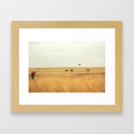 in my sight Framed Art Print
