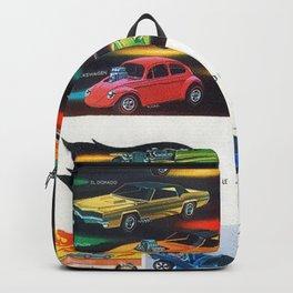 1969 Hot Wheels Italian Dealers Redline Store Poster Backpack